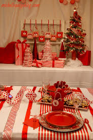 Candy Cane Theme Decorations michelle paige blogs Red and White Candy Cane Party Decorating 45