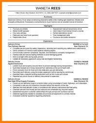 Delivery Driver Resume 100 Delivery Driver Resume Mla Cover Page Resume For Solution 33