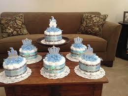 little prince baby shower diaper cakes centerpieces other how make cake small bassinet for to shower