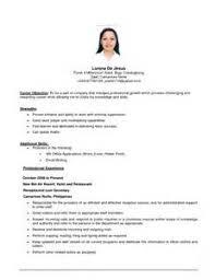 kevinfontenot cojob resume objective examples