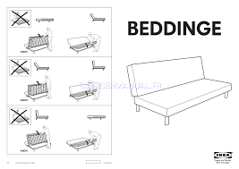ikea chairs beddinge sofabed frame assembly instruction free