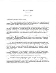 president obama s open letter to america s hardworking men  president obama s letter on labor day 1 of 2