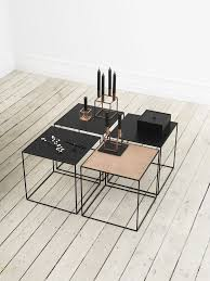 Side Table Scandinavian Design Modern And Contemporary Danish And Scandinavian Style Copper