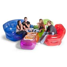 blowup furniture. inflatable couch ocean blue bubble inflatables fabcom blowup furniture e