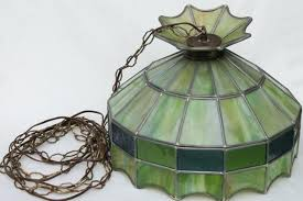 stained glass light fixture bathroom fixtures vintage ceiling