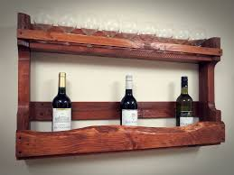 creative ideas for wine rack shelf from recycled pallet wood furniture