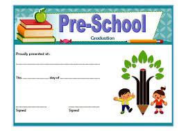 Editable Preschool Graduation Certificate Template Free 5