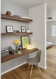 home office trends. neat gray and wooden trimming for the home office trends