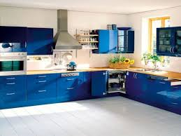 Yellow And Blue Kitchen Kitchen Room Design Kitchen Renovation Green Color Wall Black