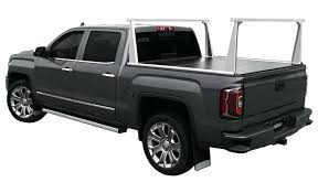 truck bed rack access cover aluminum pro series system over tonneau diy ski pickup tent truck bed
