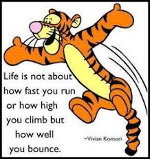 tigger and pooh quotes. Brilliant And Tigger Quote How Well You Bounce Back From Your Fall Tigger Pooh Bear  Eeyore Throughout And Quotes I