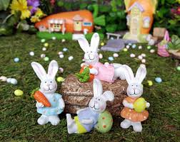 Rabbit Decorative Accessories Easter decorations Etsy 29