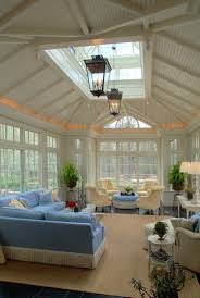 skylights and cove lighting #3seasonroominspiration learn how to create  your perfect sunroom at www.