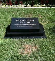 Design My Own Headstone Richard Nixon Turns 100 Today This Is Nixons Gravesite