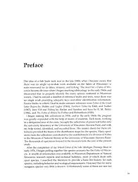 Ecology And Natural Resources Fishes Of Wisconsin Preface Awesome Resume Preface