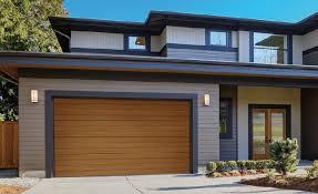 clopay canyon ridge modern style residential garage door