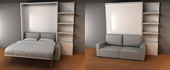 space saver bedroom furniture. Space Efficient Furniture Murphysofa Nyc Wall Bed Sofa Saving Before After Modern Contemporary Awesome Bedroom Saver E