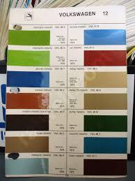 Glasurit Color Chart Glasurit Paint Chips