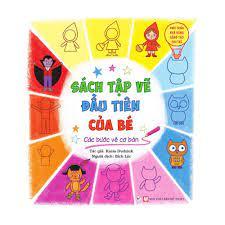 Sách Tập Vẽ Đầu Tiên Của Bé - Các Bước Vẽ Cơ Bản   nhanvan.vn – Siêu Thị  Sách & Tiện Ích Nhân Văn