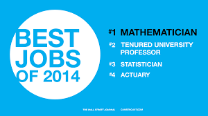job guide mathematician calculate careercast com rated mathematician as the top job for 2014 image via math
