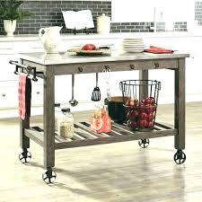 kitchen island cart white. Kitchen Island Cart With Stools Dolly White  .