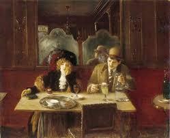 jean béraud 1848 1935 un café l absinthe