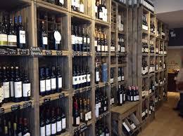 Artisan wine crates at cheddar vine deli. Linkshelving.com for more info