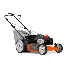 push lawn mower. husqvarna lc121p 163cc 21-in gas push lawn mower with mulching capability