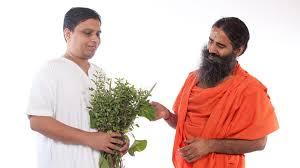 acharya balkrishna and ramdevbaba