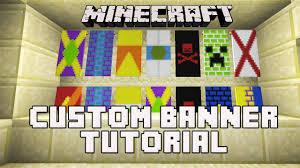Minecraft How To Make A Banner Design Minecraft Snapshot 14w30b How To Make Banners Custom Banner Flag Tutorial
