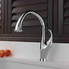 Leland Delta Kitchen Faucet Delta Addison Single Handle Pull Down Standard Kitchen Faucet