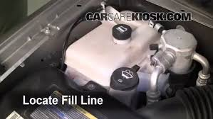 fix coolant leaks 2002 2009 chevrolet trailblazer 2005 determine the coolant level