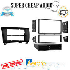 car audio video wire harnesses for toyota and tundra aerpro toyota tundra 2007 2013 double din gloss black color facia fascia