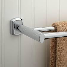 Bathroom Towel Dunlap Double Towel Bar Bathroom