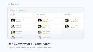 recruitee onrec it optimises the entire hiring workflow from creating careers sites job postings talent sourcing and applicant tracking best applicant tracking system