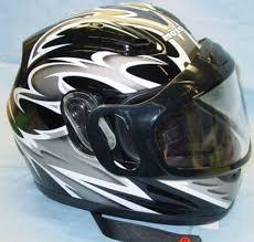 Buy Snowmobile Helmet Flip Up Modular Full Face Small Red