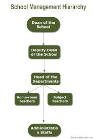 School Management Hierarchy Structure Hierarchy Structure