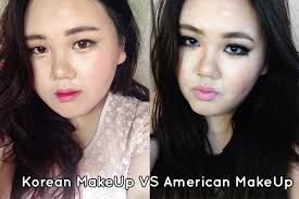 today i did two makeup tutorials of korean and american just a heads up m not