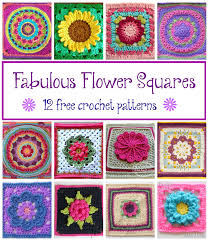 Crochet Squares Free Patterns