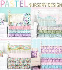 pastel nursery design with bright