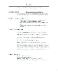 What Is The Best Objective For A Resume Resume Objective Hospitality