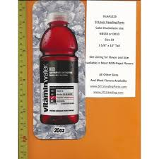 Vitamin Water Vending Machine Inspiration Large Coke Size Chameleon Soda Flavor Strip Glaceau Vitamin Water