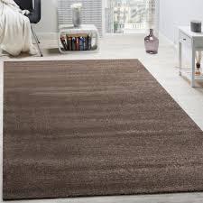 designer rug frieze rugs luxurious shimmer shine effect plain pastel brown
