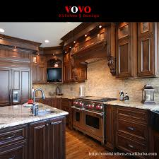 american style luxury cherry solid wood kitchen cabinets imported from chinain kitchen cabinets home improvement on aliexpresscom alibaba group32