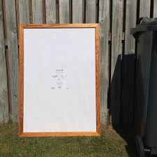 extra large ikea pine poster picture frame 100cm x 70cm