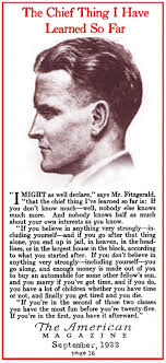 f scott fitzgerald nonfiction essay in american magazine f  article surfer < prev next >