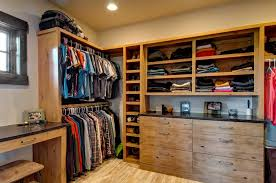 men s dresser closet rustic with recessed lighting wooden storage cabinets