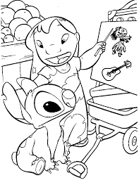 lilo coloring pages lilo and stitch coloring pages pin printable