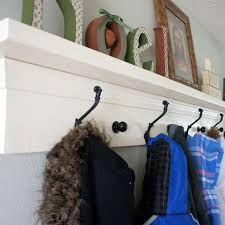 Wall Coat Rack With Storage Coat Rack Shelves Wood nobailoutorg 44