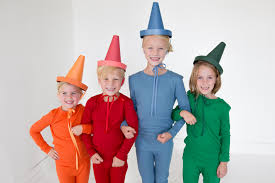 costumes for crayons